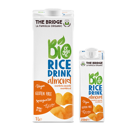 Rice Almond Drink 1 Litre DeBridge