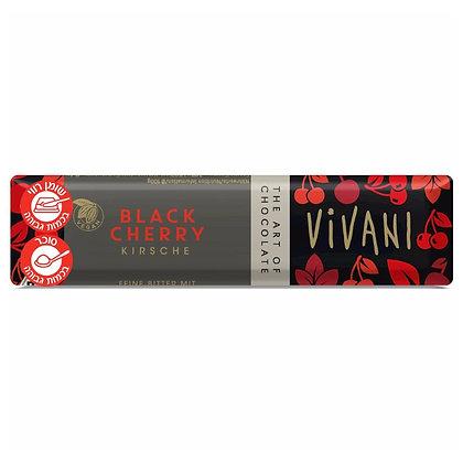Black Cherry Chocolate 35g Vivani