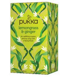 Tea Lemongrass Ginger Pukka