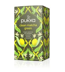 Tea Clean Matcha Green Pukka