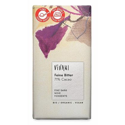 Bitter Chocolate 71% 100g Vivani