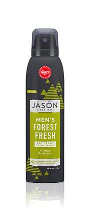 Dry Spray Deodorant Men's Forest Fresh