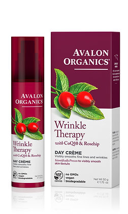Day Cream Avalon Wrinkle Therapy with CoQ10 & Rosehip