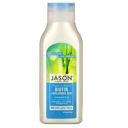 Jason Thicken & Restore Biotin + Hyaluronic Acid Conditioner