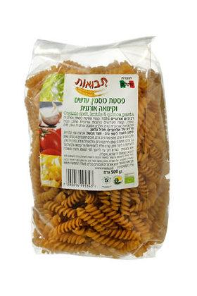 Spelt Quinoa and Lentil Spirelli Tvuot