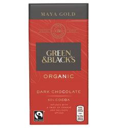 Chocolate Maya Gold Green & Black