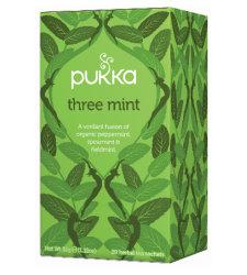 Tea Three Mint Pukka