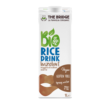 Rice Hazelnut Drink 1 Litre DeBridge