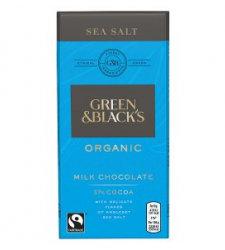 Chocolate with Sea Salt Green & Black