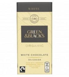 Chocolate White Milk Green & Black