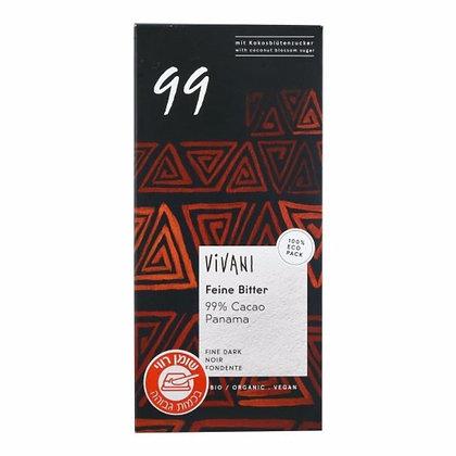 Bitter Chocolate 99% Vivani
