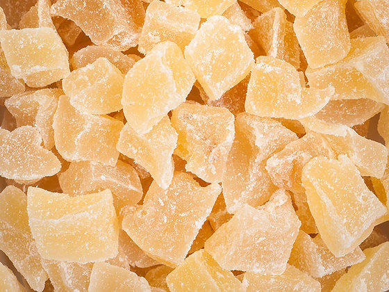 Ginger Cubes Candied
