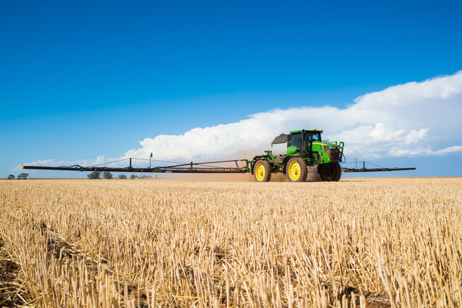 Advantage in precision farming