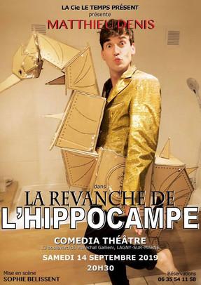 Affiche - La revanche de l'hippocampe.jp