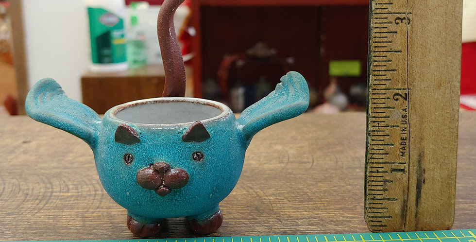 Tiny Angel CatWare Bowl with Wings