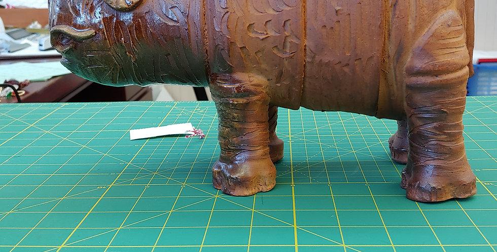 Wood fired rhino