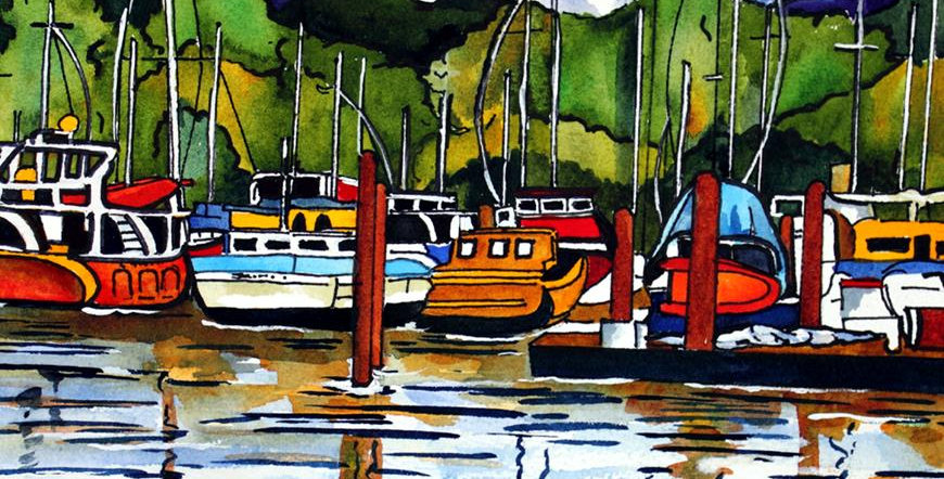 Art Tile-Peaceful Harbor