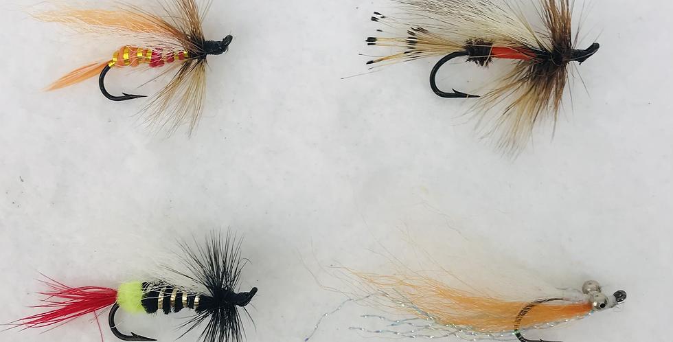 Hand tied Fishing Flies