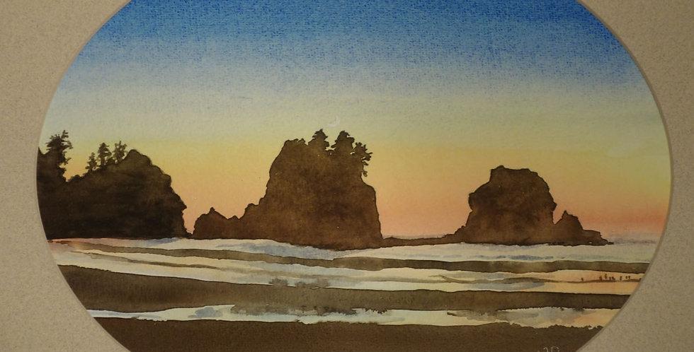 Shi-Shi Sunset
