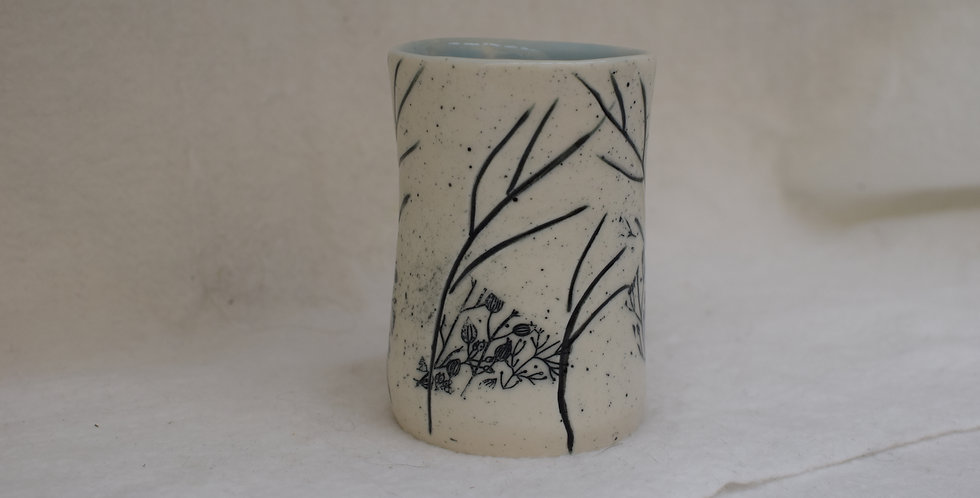 Owl and Twigs Yunomi