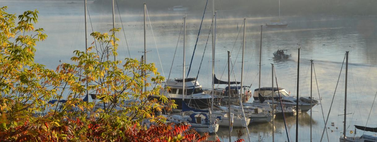 Misty Picton Harbour Photo Credit: © Peggy de Witt