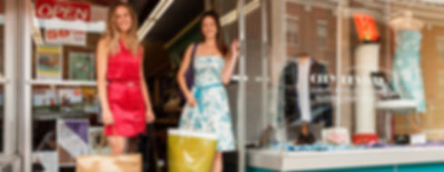 Women Shopping at City Revival