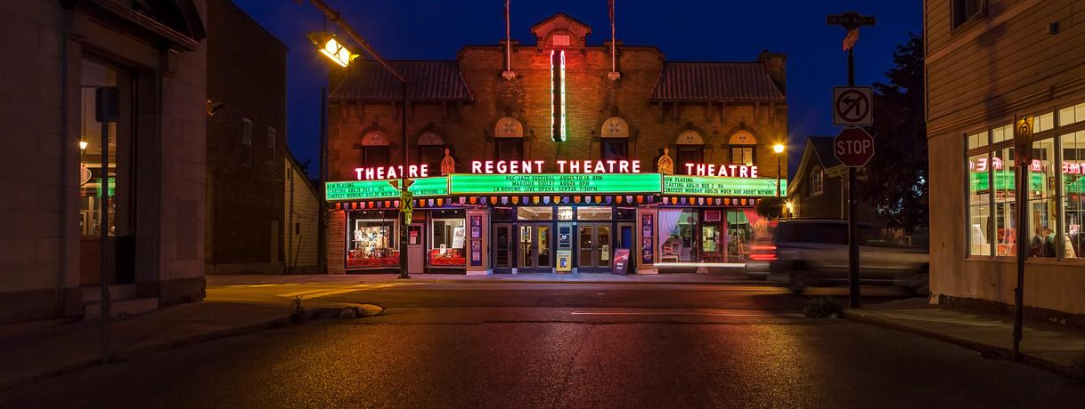 Regent Theatre Picton Photo Credit: © Daniel Vaughan (vaughangroup.ca)