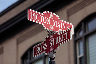 Picton Street Signs