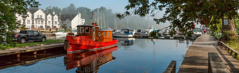 Picton Harbour Photo Credit: © Daniel Vaughan (vaughangroup.ca)