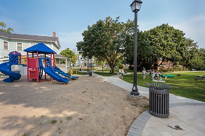 Benson Park Playground and path