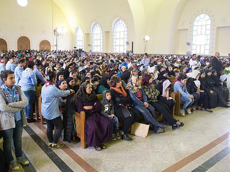 Ny egyptisk kirke indviet 3 år efter henrettelsen af en gruppe kristne egyptere i Libyen