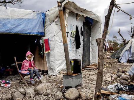 'Evakuer børnene fra Moria-lejren'