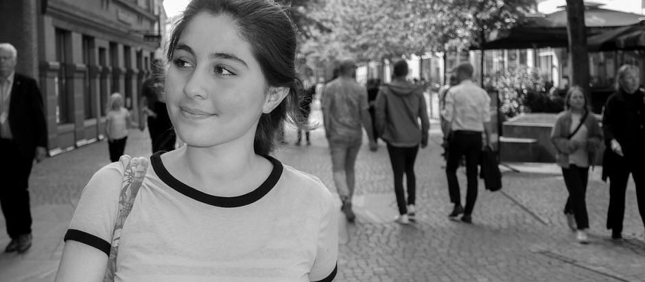 'Jeg var bange for, at de ville bombe os, mens vi sov'