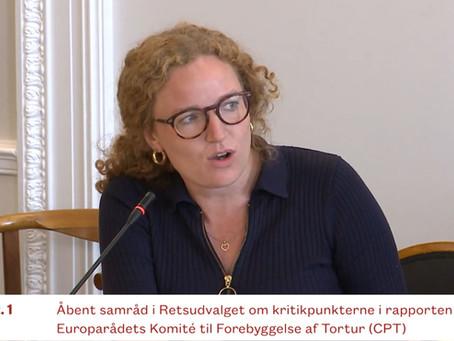Justitsminister om indsatte i Ellebæk: 'Fiksering er sidste udvej'