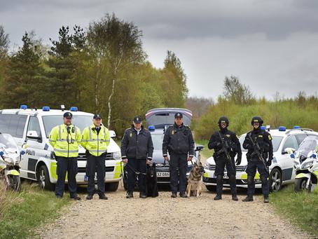 Kun få indvandrere i Politiet