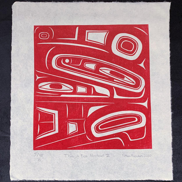 Tlingit Box Abstract II