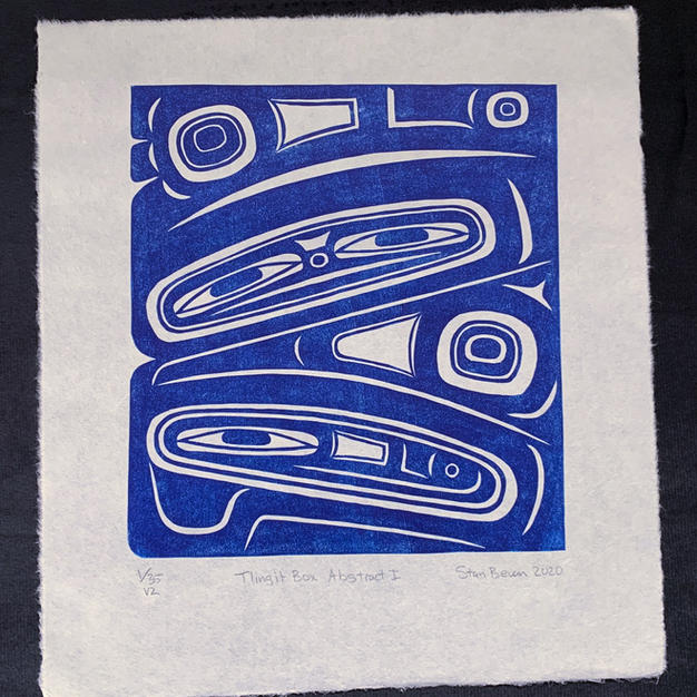 Tlingit Box Abstract I