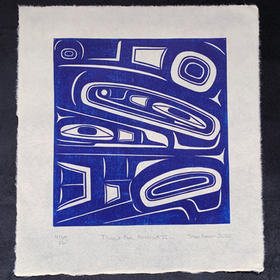 Tlingit Box Abstract II
