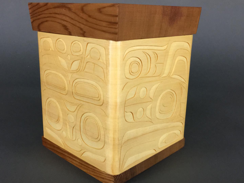 Bentwood Box Rendition