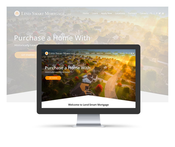 Webdesign for mortgage company