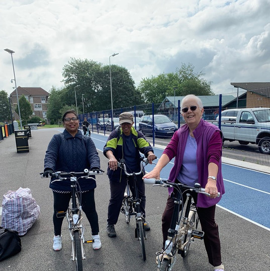 Women's Only Cycling session