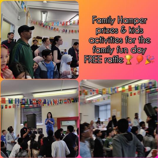 Family hamper prize