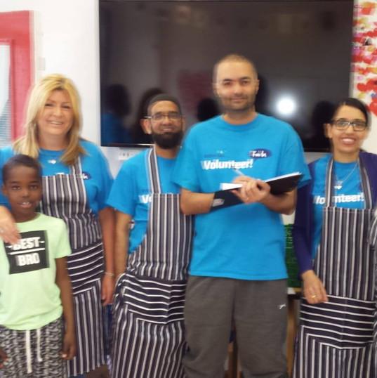Volunteers of Holiday Fun & Food
