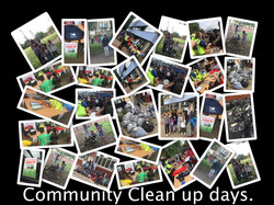 Community Clean up days