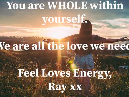 Feel Loves Energy - In OUR Garden of Life