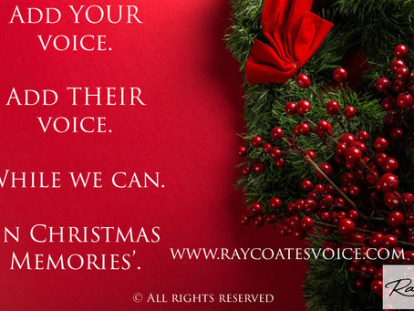 'In Christmas Memories'... It's Time to Give the Gift of Voices