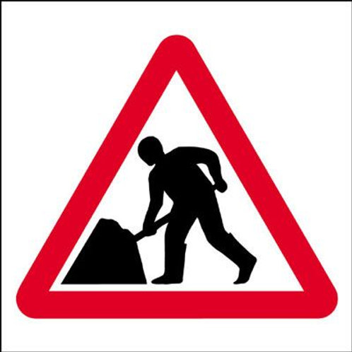 Safety / General / Construction Signs - Stanchion - Men At Work