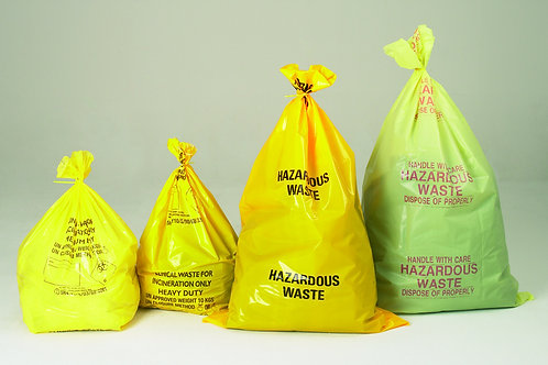 COSHH & Spill Control - Waste Bags