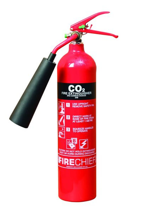 Fire Safety - CO2 Fire Extinguishers