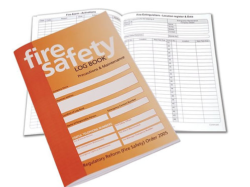 Fire Safety - Fire Safety Log Book